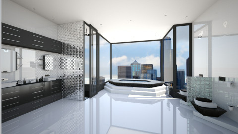 Modern and Urban Bathroom - Modern - Bathroom - by Tuubz