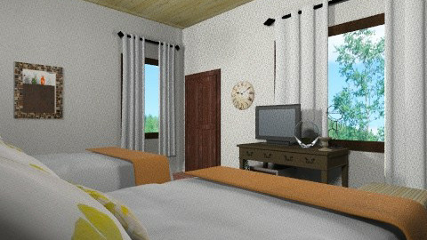 prueba 6 - Rustic - Bedroom - by susanita