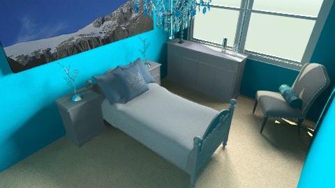 Blue Room - Bedroom - by PaxAmor