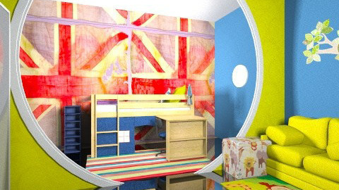 Be Or not - Kids room - by MahaMA
