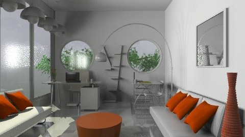 Project 1- office section - Modern - by monicasabile
