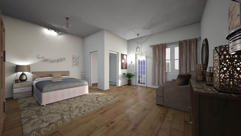 again - Bedroom - by jdenae3