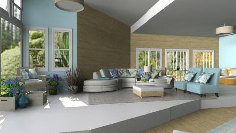 Summertime - Living room - by bia_freitas