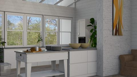 scandinavian kitchen - Kitchen - by BortikZemec