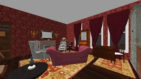 221B Baker Street - Living room - by SammyJPili