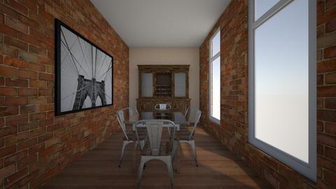Loft Dining - Dining room - by aviciedo