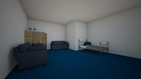 samurai - Bedroom - by smoss51