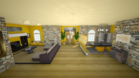 l1 - Living room - by Violeta Sordo