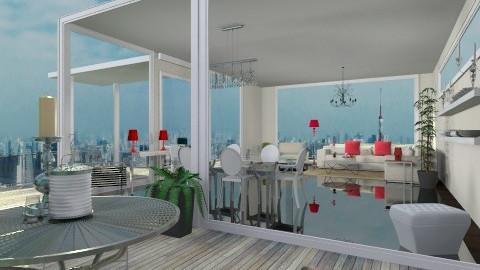 Glass box - Living room - by cready
