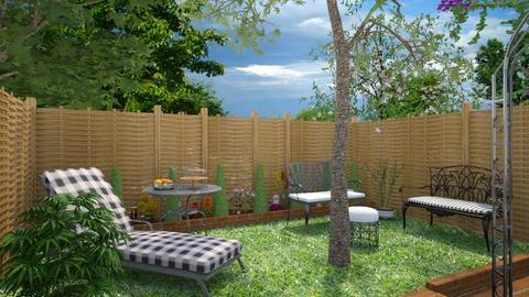 Garden template_Sun - Garden - by Laurika