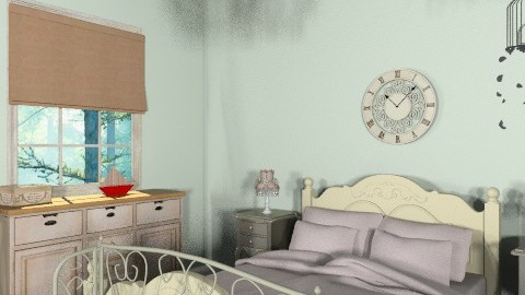 French inspiration 4 - Rustic - Bedroom - by Charlotte10
