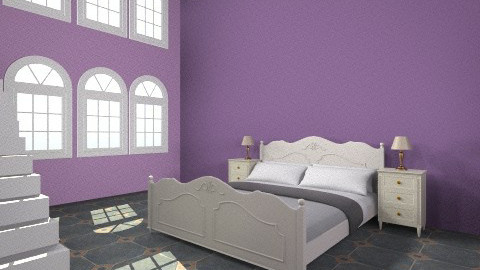 Old Castle - Classic - Bedroom - by evakiew