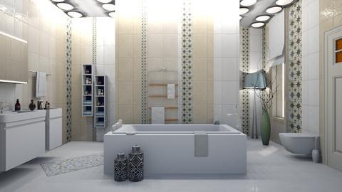 boho bath 7 - by nat mi