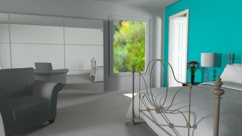 Aqua - Feminine - Bedroom - by Natalia15