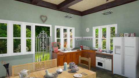 country kitchen - Country - Kitchen - by yarah