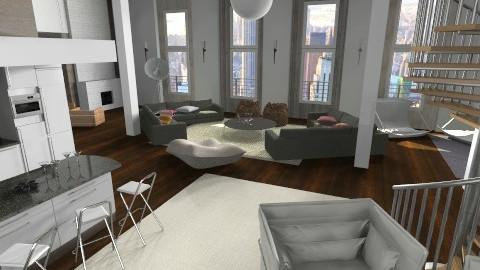 Shine - Living room - by annagunbina