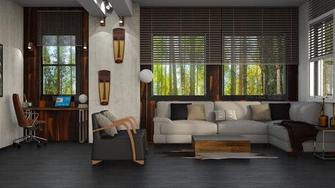 Wood - Living room - by SZdesing