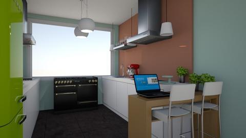 Gelijkvloers Plan B 5 - Kitchen - by pixie_16