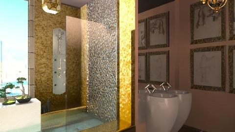 Small bathroom - Bathroom - by Giuiulai