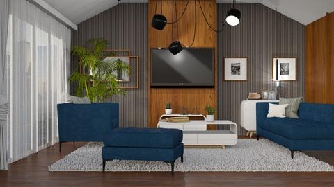 mid century - Living room - by anjaam