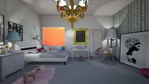 teen room - Bedroom - by nicolaswiggins