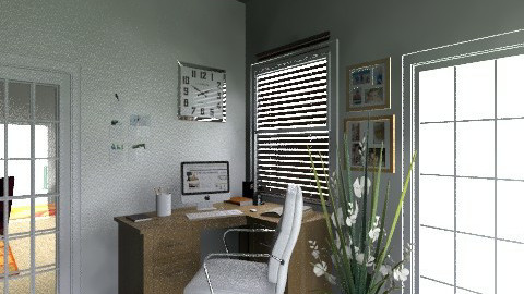 office - Minimal - Office - by aleya