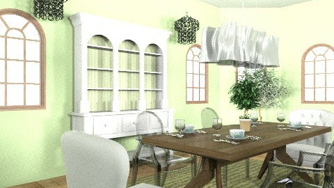dining room - Global - Dining room - by designluvr