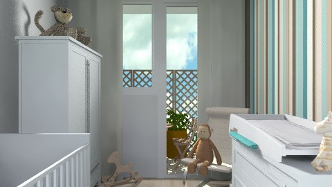 fiubabaszoba3 - Minimal - Kids room - by undibundika