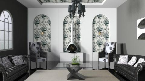 blackjack - Vintage - Living room - by jackiefruit