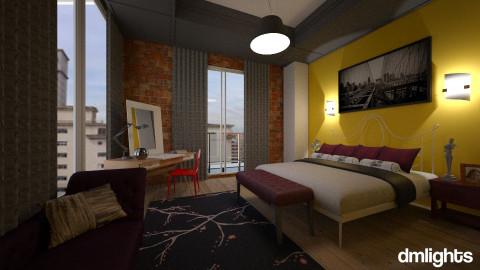 New york - Bedroom - by Roberta Bela