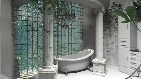 Winter bathroom2 - by Yavanna