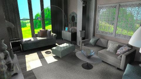 Pastel - Feminine - Living room - by JesWithOneEss