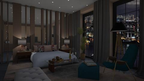 Hotel room Ibiza - Bedroom - by jarkaD