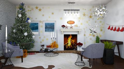 Christmas Stars - Glamour - Living room - by Isaacarchitect
