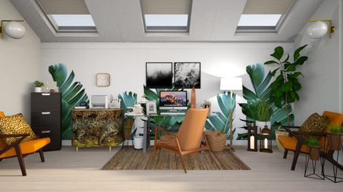 urban jungle office - Office - by Anjuli