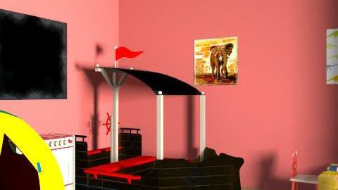Playroom - Minimal - Kids room - by elb2010