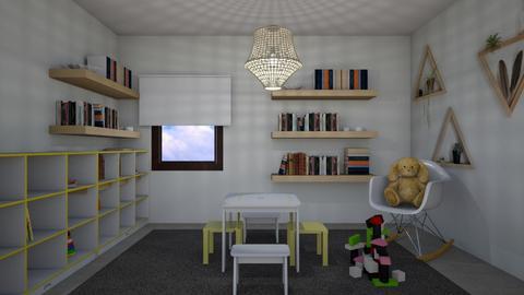 2665 1 - Kids room - by Riki Bahar Elbaz