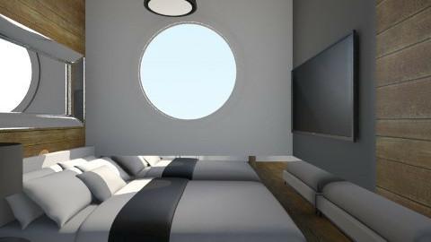 Nakagi Capsule Room 2 - Rustic - Bedroom - by wagner herbst padilha