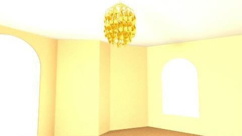 Orange - Living room - by Ren