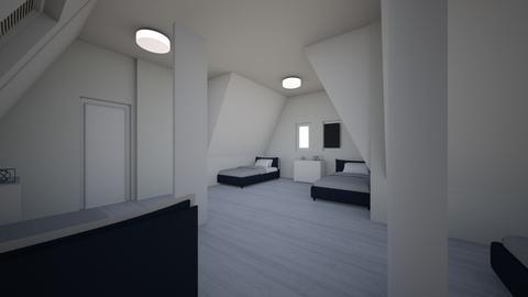 sypialnia - by elkamama