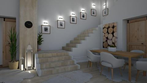 Wood wood - Living room - by jarkaD