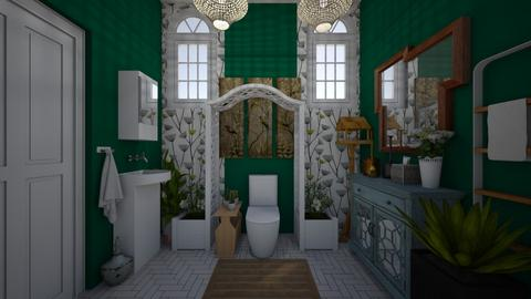 guest bathroom 6 - by GeGe Kanthip