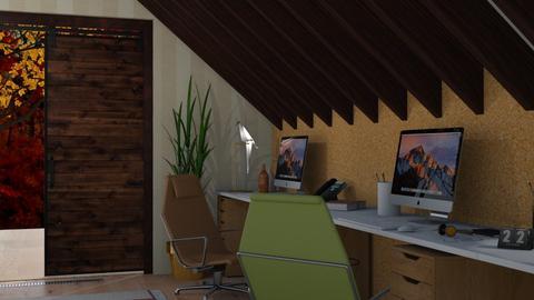 Autumn office - Office - by jarkaD