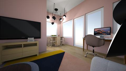 AK olohuone - Living room - by Essi_eames
