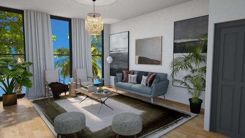 Template room - Living room - by kyrabaldwin