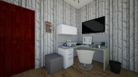 leather home office - Office - by bethanyann