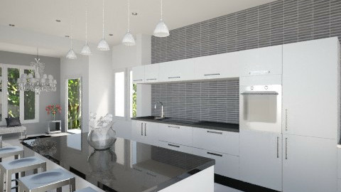 Open Kitchen - Classic - Kitchen - by Hope42