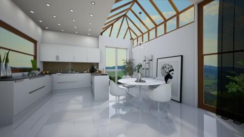 Sleek Kitchen Diner - by camilla_saurus