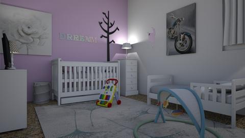 Dream and Oceans Nursery - Modern - Kids room - by oksana181200