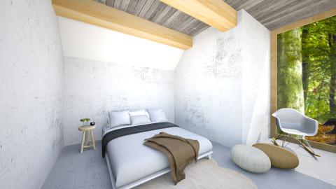 Natural Minimal - Bedroom - by Simonexx